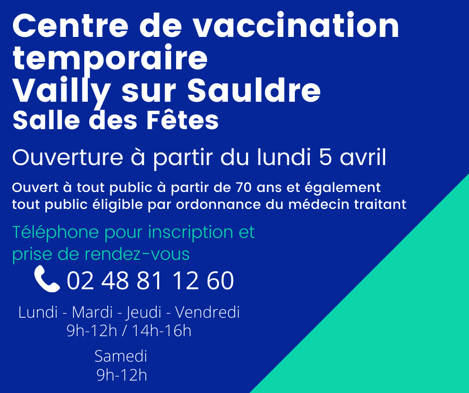Centre de vaccination temporaire vailly sur sauldre version2